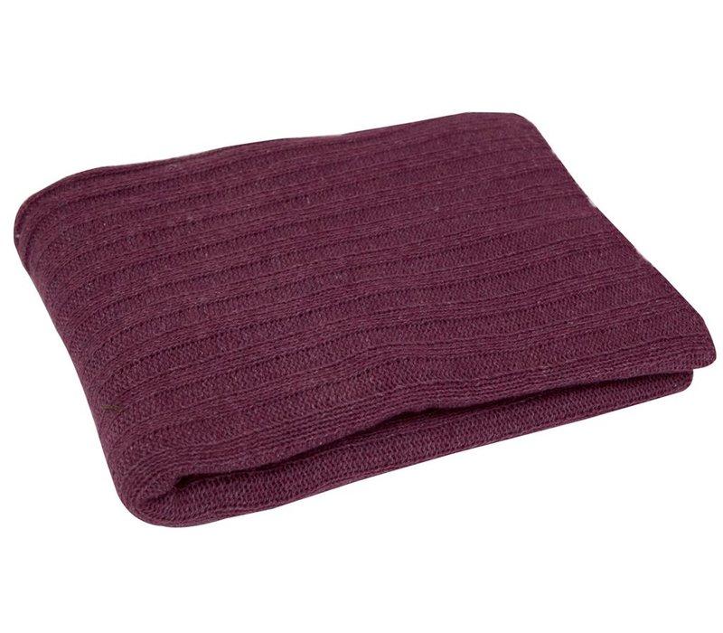 Blanket Rock Rosewood 130x180cm