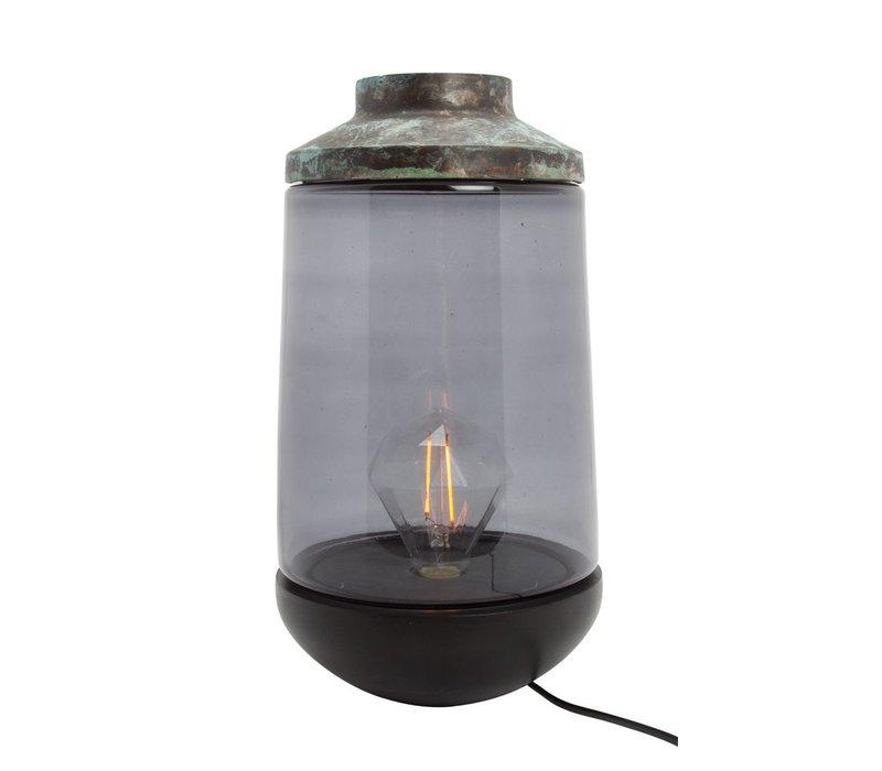 Lamp Casablanca Patina D22 H42