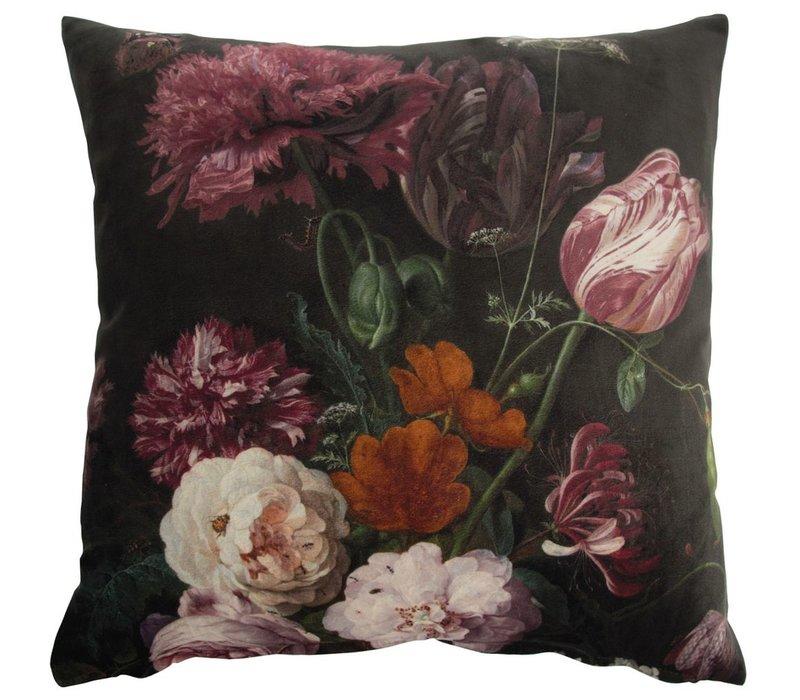 Cushion Bouquet Evergreen 45x45cm