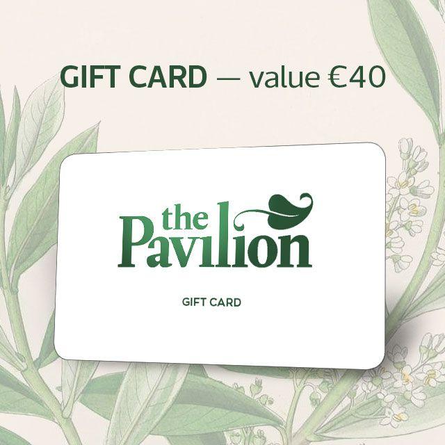 Garden centre gift voucher 40 the pavilion for Gardening gift vouchers