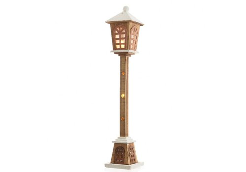 Homestore Wooden Lamp post with LED's - large