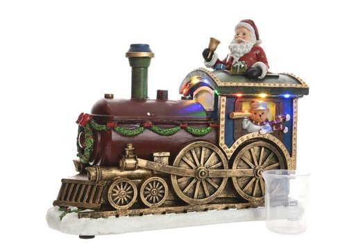 Homestore Train with Santa with LED's & music