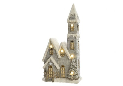 Homestore Christmas Church with LED's