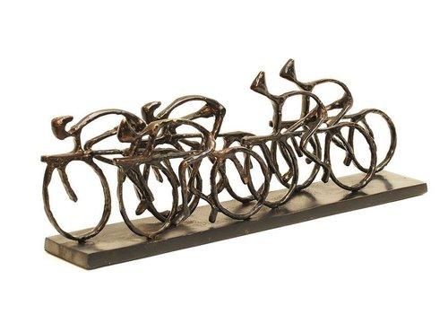 Homestore Cyclists Sculpture
