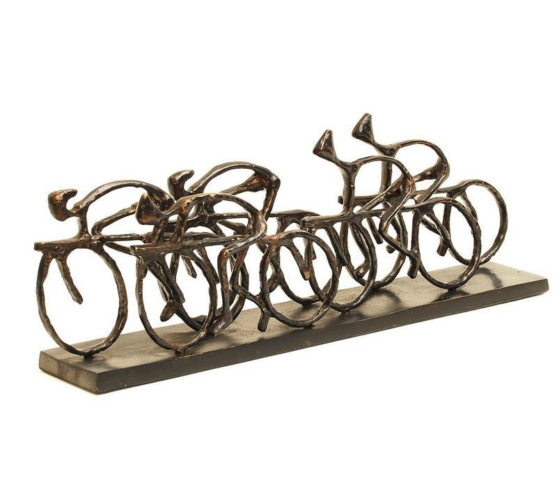 Cyclists Sculpture