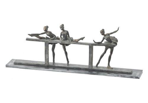 Homestore Abstract Trio Ballet Dancers