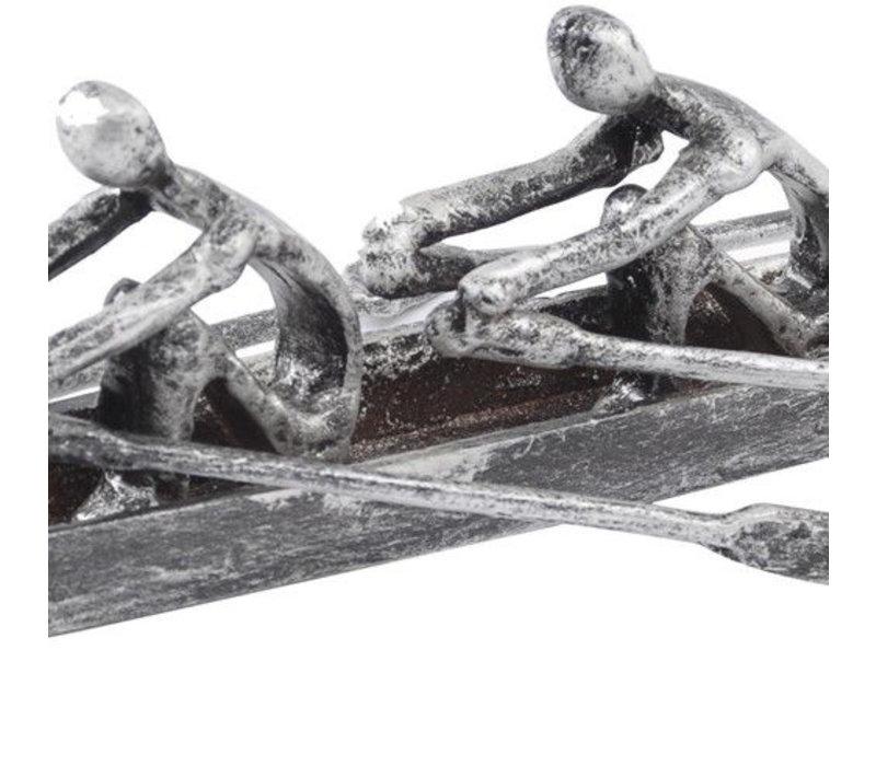 Sculling Pair Sculpture