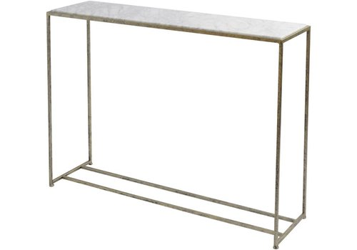 Homestore Mylas Marble Console Table