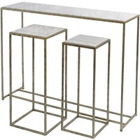 Mylas Marble Console Table
