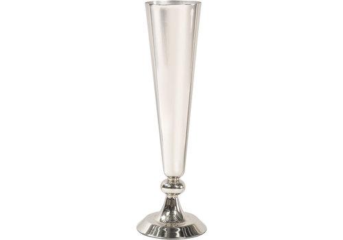 Homestore Rushford Nickel Plated Trumpet Vase