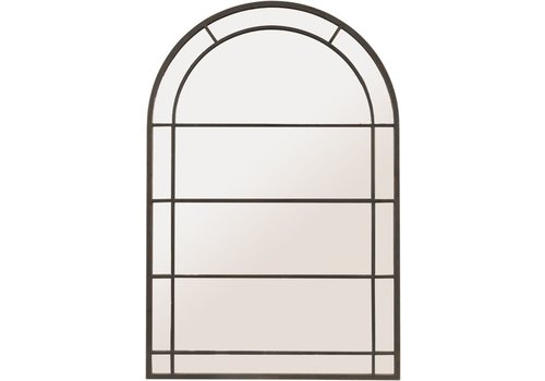 Homestore Black Arch Frame Mirror Large