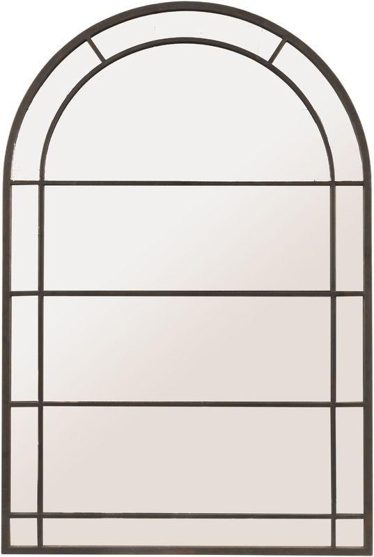Black Arch Frame Mirror Large - The Pavilion