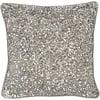 Homestore Gatsby Antique Silver Small Square Sequin Cushion