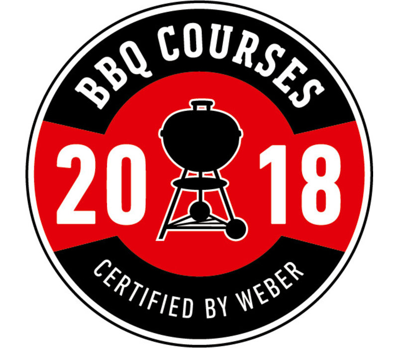 BBQ Course Certified by Weber - Saturday 16th June 2018