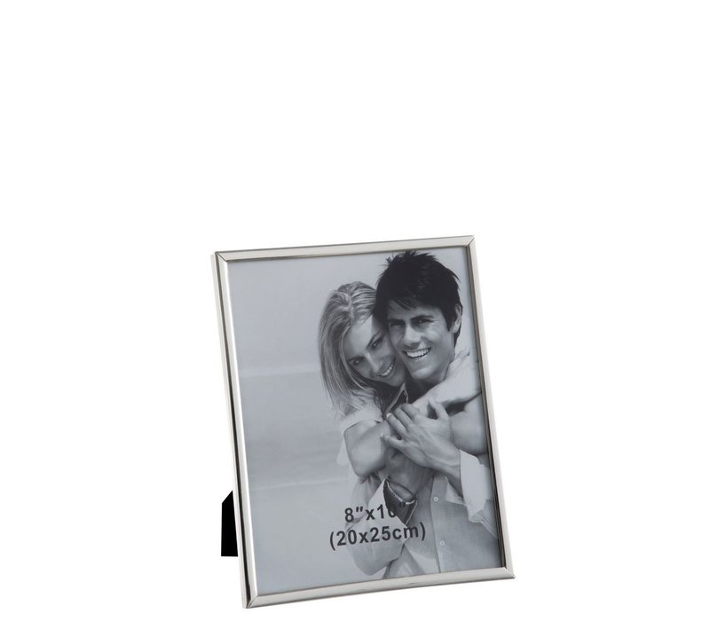 PHOTO FRAME 20X25 CLASSIC SILVER Large