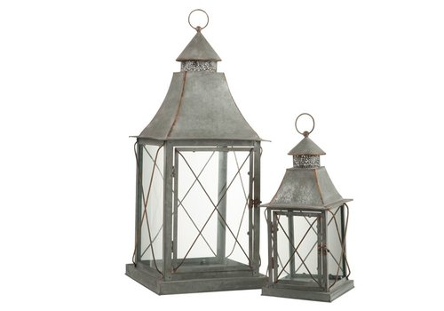 Homestore LANTERNS POINT METAL & GLASS - Small