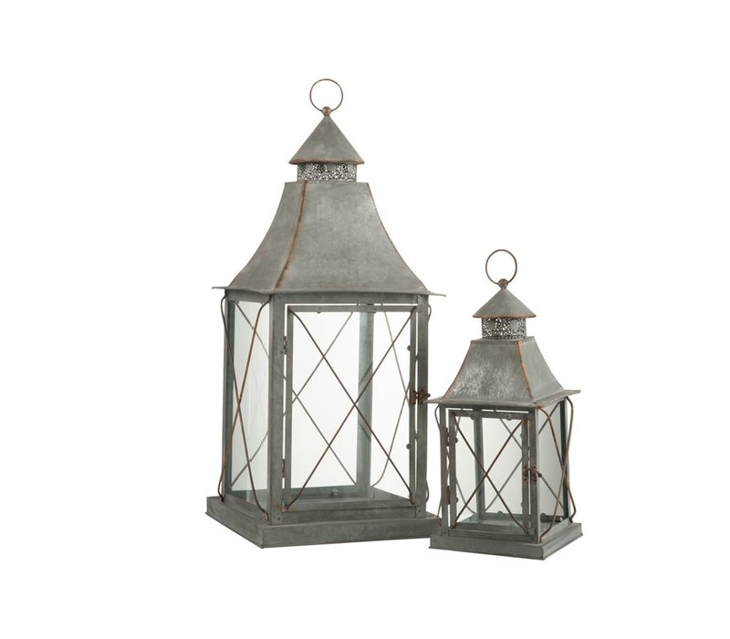 LANTERNS POINT METAL & GLASS - Small