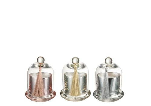 Homestore SCENTED CANDLE BELL MIX Small