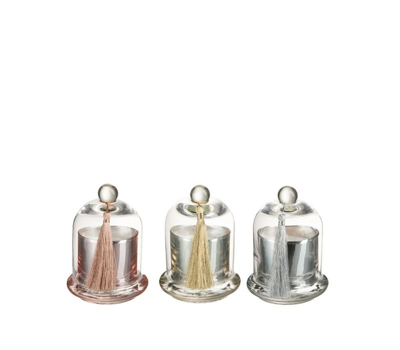 SCENTED CANDLE BELL MIX Small