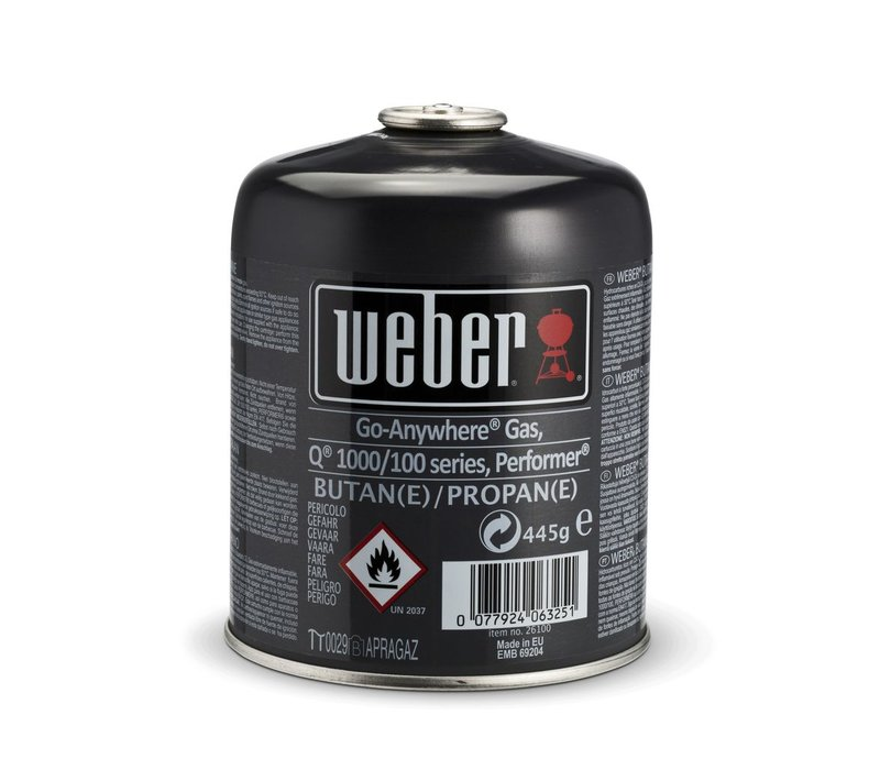 DISPOSABLE GAS CANISTER - 445G