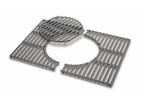 Weber Cooking grates - Cast Iron fits Spirit 300 Series