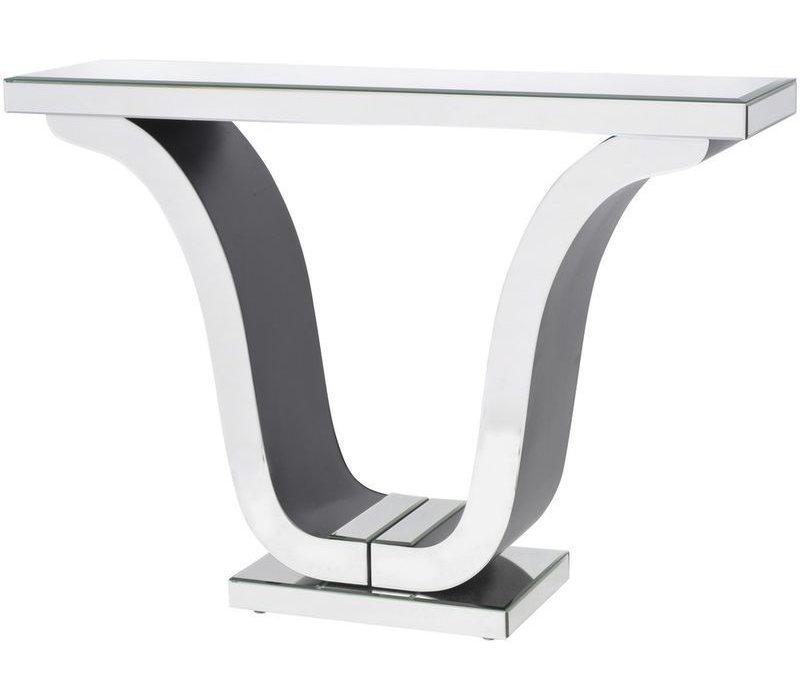 Veneto Mirrored Glass Deco Console Table