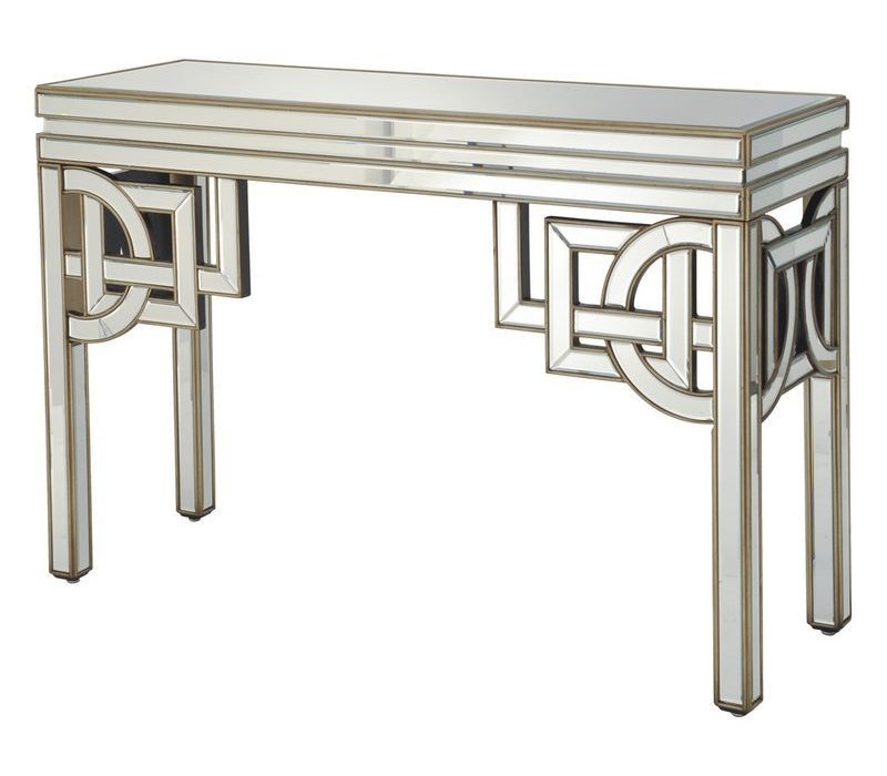 Claridge Deco Mirrored Console