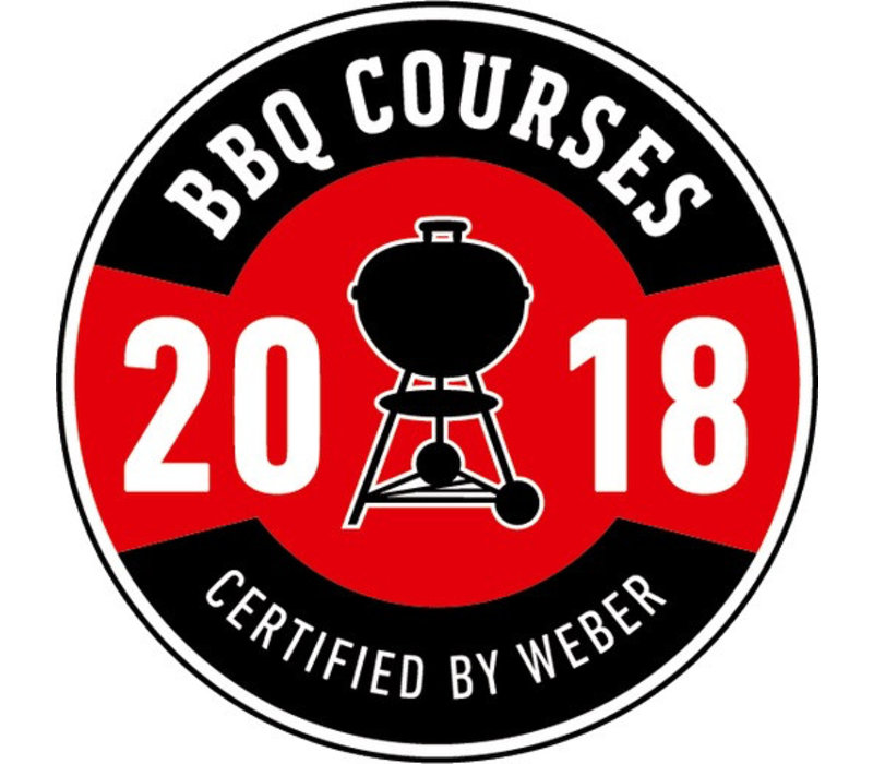BBQ Course Certified by Weber - Friday 4th May
