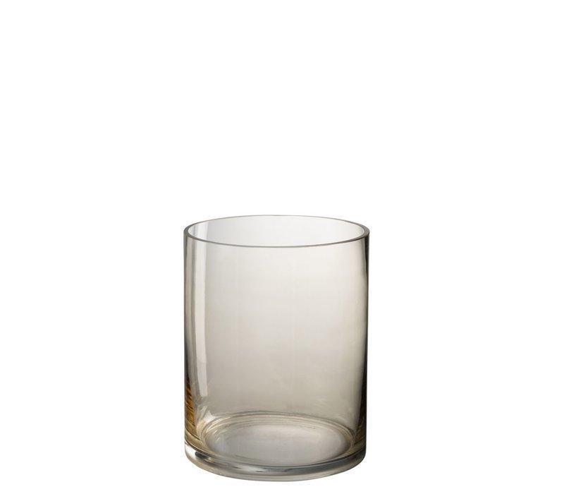 HURRICANE ROUND GLASS BEIGE
