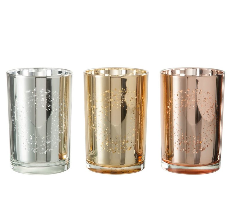 HURRIC CIRCULAR GLASS IN ASSORTED COLOURS