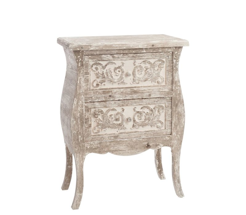 CHEST OF DRAWERS 2DRAWERS - BOHO