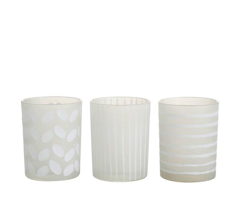 HURRICANE SARAH GLASS (M) - ASSORTED
