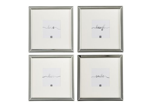Homestore PHOTO FRAME 12x12 GLASS SILVER