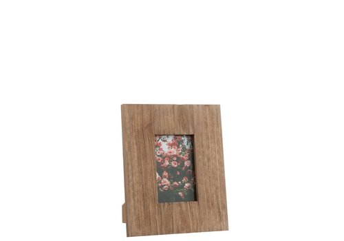 Homestore PHOTO FRAME SQ 10X15 WOOD NATURAL