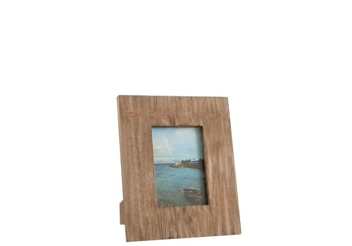 Homestore PHOTO FRAME SQ 13X18 WOOD NATURAL