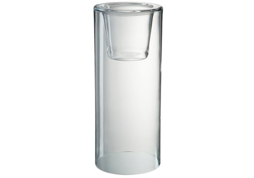 Homestore HURRICANE IN CLEAR GLASS (L)