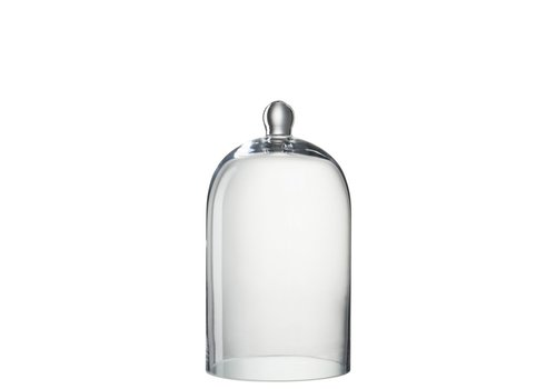Homestore GLASS BELL ROUND CLEAR GLASS