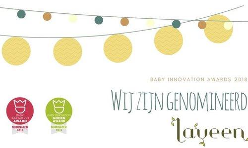 Baby Innovation Award 2018 en Green Award 2018 - Nominatie