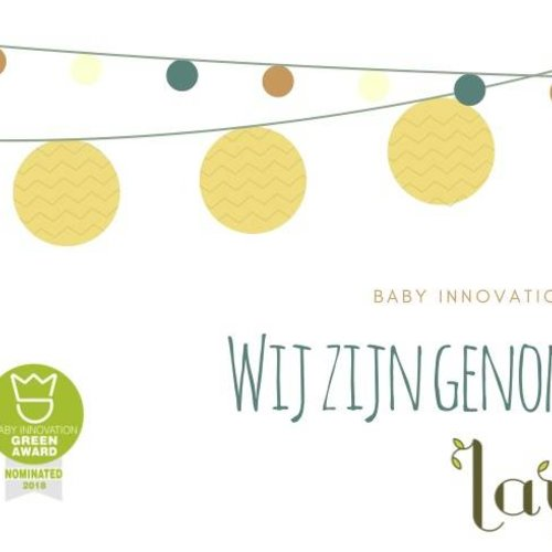 Baby Innovation Award and Green Award 2018 - Nomination