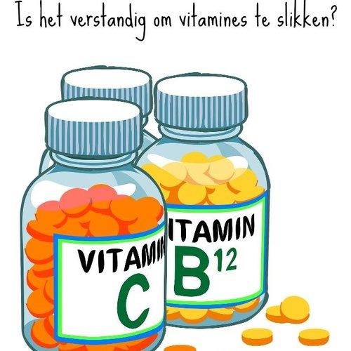 """""""R"""" in de maand. Extra Vitamine slikken?"""