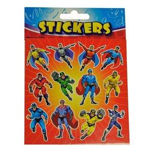 Stickervel superhelden