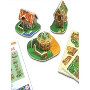 3-D puzzel mini huis