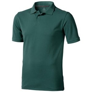 Elevate Elevate Calgary unisex polo forest green
