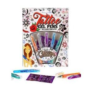 Glitter tattoo pennen (Voorraad 3 stuks, OP=OP)