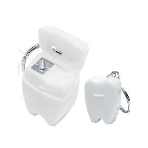Dental floss sleutelhanger