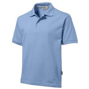 Slazenger Slazenger Cotton unisex polo lichtblauw