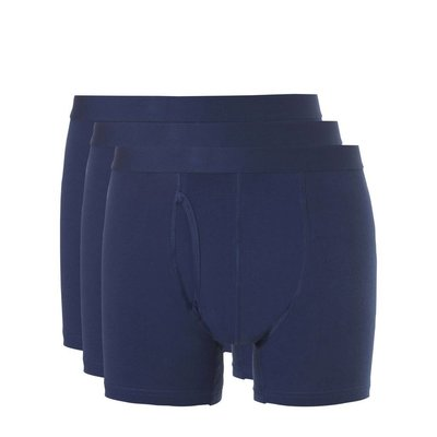 Ten Cate Basic boxers 3-pack wit, blauw of zwart
