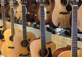 Een unieke collectie gitaren die met passie is samengesteld.