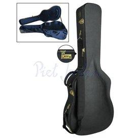 Boston CAC500J Akoestisch gitaarkoffer Jumbo Black