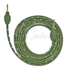 Bullet Cable 12GG Gitaarkabel 3.66m Grenade green